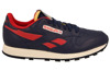 BUTY REEBOK CL LEATHER VINTAGE M41103 || MULTICOLOUR || NIEBIESKI